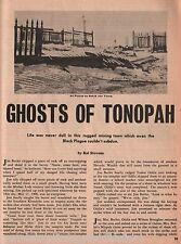 Tonopah, NV History +Allen, Brougher, Butler, Cutsinger,Dawson*, Fisherman,Hicks