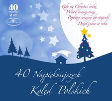 2CD 40 Najpiękniejszych Kolęd Polskich  / Polish Christmas Carols MAZOWSZE