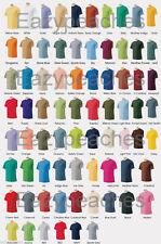 Peaches Pick NEW Mens Tees 2X 3X 4X 5X 6X 100% Ultra Cotton T-Shirts Colors A-L