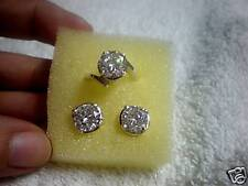 jem: 1 ct. SOLO STUD EARRINGS AND DIAMOND RING