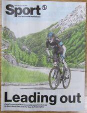 Tour De France - Chris Froome & Mark Cavendish - Sport magazine – 28 June 2013