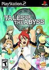 Playstation 2-Tales Of The Abyss Esrb Ps2 GAME NEW