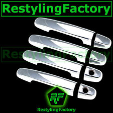 07-11 Toyota Yaris + 04-09 Prius Chrome 4 Door handle WITH PSG Keyhole Cover