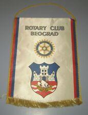 Rotary Club Belgrade Beograd Serbia flag