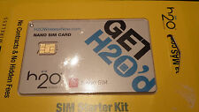 made for H2O BlackBerry ATT Wireless NANO SIM Card BRAND NEW 4G LTE