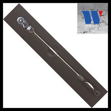 "Werkzeug - Extra Long Flexi Head Ratchet 1/4"" - 12"" Long, 72 Tooth Drive 11123"