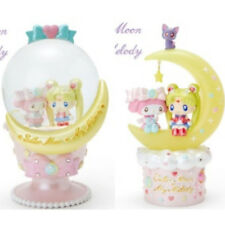 My Melody x Sailor Moon Snow Globe & Interior Light Set New From Japan F/S