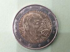 Pièce commémorative de 2 euros € : 2€ france 2016 - francois mitterrand