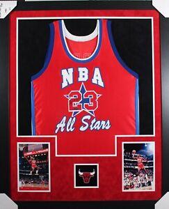 Michael Jordan (AUTOGRAPHED) Wilson NBA All-Stars Basketball Jersey (UDA COA)