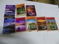 8 Stück Bücher von Nora Roberts Sammlung Konvolut Romane, C49.1