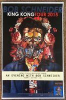 BOB SCHNEIDER 2015 Gig POSTER Portland Oregon Concert
