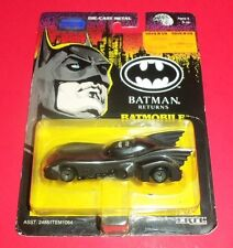 BATMAN ACTION MASTERS ERTL - BATMOBILE - BATMAN RETURNS - NEW DIE-CAST METAL