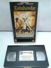 Ladyhawke VHS Hard Case Pal Format