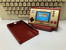 More details for screen slide protector case stand game watch super mario bros 35th anniversary