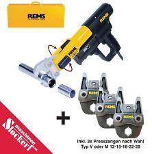 Rems Radialpresse Power Press ACC Basic Pack 577010 + 3 Presszangen nach Wahl