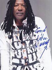 ALPHA BLONDY Reggae legend RARE AMAZING IN PERSON SIGNED W/PROOF COA !