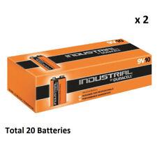 20-39 Batterie monouso 9 V Block Duracell per articoli audio e video