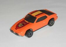 Hot Wheels 1 Loose Car Upront 924 Orange Porsche Hong Kong Base