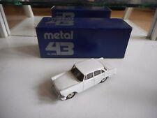 Western Models Metal 43 Opel Rekord in White on 1:43 in Box