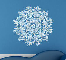 Mandala Wall Decal Vinyl Sticker Indian Pattern Yoga Namaste Home Decor (10ml0a)