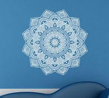 Mandala Wall Decal Vinyl Sticker Indian Pattern Yoga Namaste Home Decor (10ml0a)