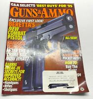 Guns & Ammo Magazine May 1995 Back Issue Beretta Combat Pistol