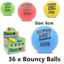 4x Super Shot Bouncing Hand Balls Mixed Color Birthday Party Kids Gift 6cm