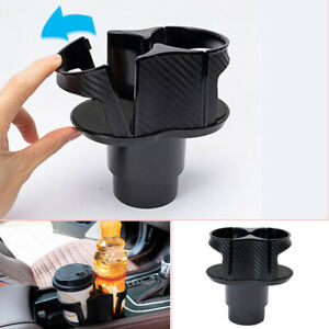 Universal Car Center Console Multi Cup Case Holder Drinking Bottle Holder ABS
