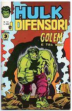HULK E I DIFENSORI corno N.11 GOLEM E' TRA NOI ! dottor dr. doctor strange 1975