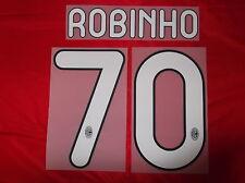 KIT ROBINHO 70 NERO BIANCO X MAGLIA CALCIO MILAN NUOVO STILSCREEN NEW