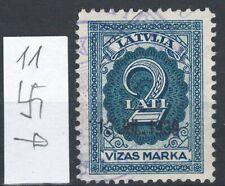 Latvia (Lettland) 1928 Visa stamp,Used 1 pcs. revenue stamp