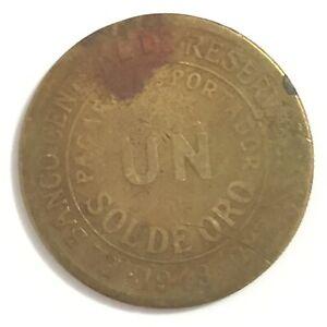 Coin - 1949 Peru 1 Sol Coin -C7