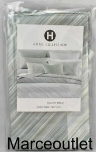 Hotel Collection Layered Frame STANDARD Pillowshams Jade