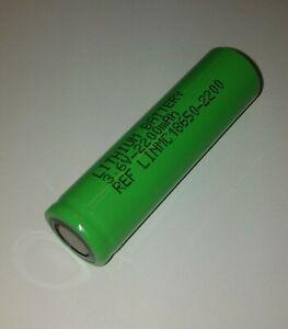pile accu batterie lithium NMC INR 18650 2200mAh 3.6V