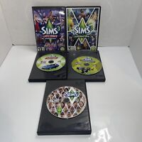The Sims 3 PC Game Lot Of 5;  Sims, Fast Lane,Late Night,lofts , Supernatual
