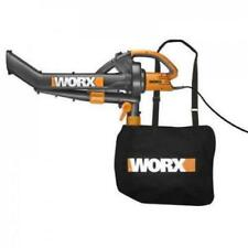 Worx Trivac 12 Amp Blower Mulcher & Vacuum w/Collection Bag (Read Description)