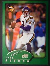 NFL 3 Todd Bouman Minnesota Vikings Topps 2002