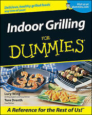 NEW Indoor Grilling For Dummies by Lucy Wing