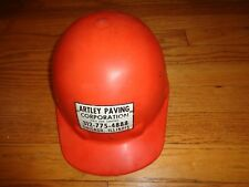 Vintage Fibre-Metal Hardhat Orange Superlectric