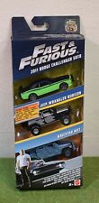 MATTEL 1:55th SCALE DIE-CAST FAST & FURIOUS 3 PACK DODGE JEEP WRANGLER NAVISTAR