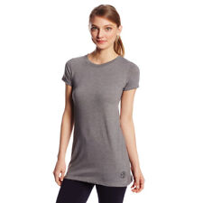 """Zumba Fitness Women's """"One More Dance"""" Bubble Tee, Thuderin Grey, X-Small"""