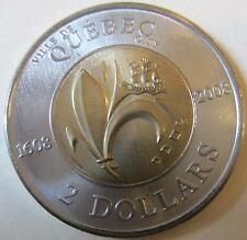 2008 Canada Two Dollar Quebec City Coin (Toonie Mint UNC.)