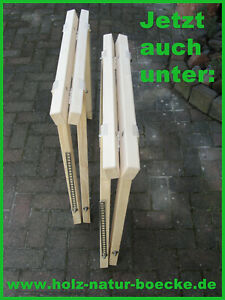 Klappbock Holz, 2 neue Holzböcke, Stützbock, Arbeitsbock, Schreinerbock