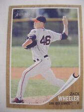 ZACK WHEELER METS 2011 Topps Heritage Minors baseball card ZACH SAN JOSE GIANTS