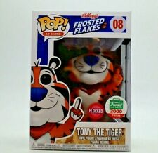 Funko POP!  TONY THE TIGER #08 Frosted Flakes  FLOCKED  Funko Shop Limited
