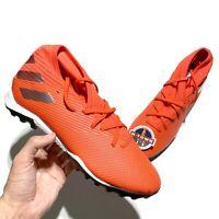 adidas Nemeziz 19.3 TF Turf Soccer Shoes Red F34427 Men's size 10-11
