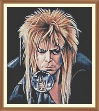 labyrinth Silhouette CROSS STITCH CHART 12.0 x 10.7 inch