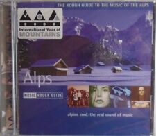 THE ROUGH GUIDE TO THE MUSIC OF THE ALPS - CD - BRAND NEW