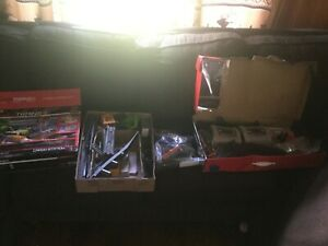 4 box Power Trains lot