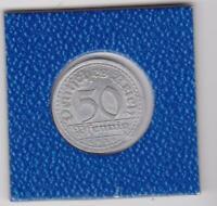 50 Pfennig 1919 G Deutsches Reich German Empire prima Erhaltung